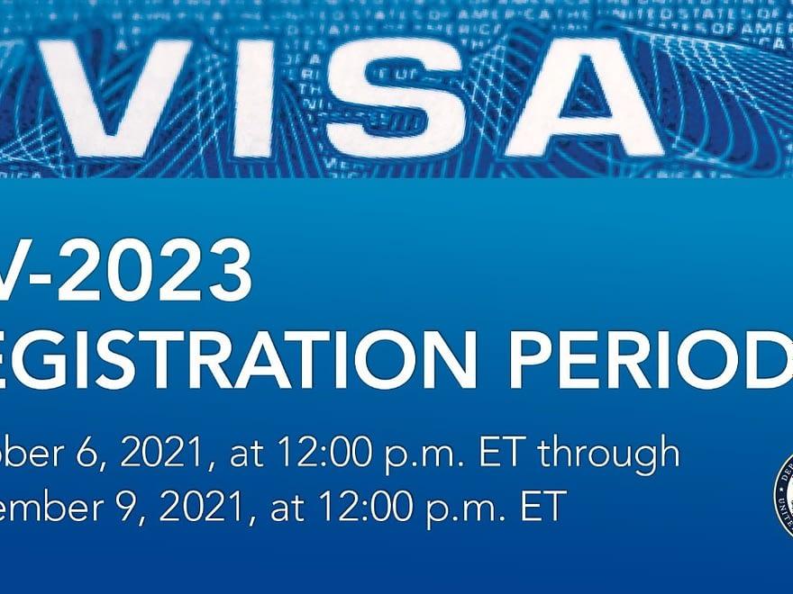 US DV lottery 2023 (Diversity Visa Program - DV-2023)