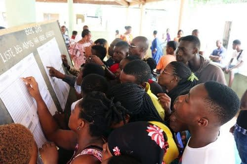 Cameroon 2020 GCE A-Level Results